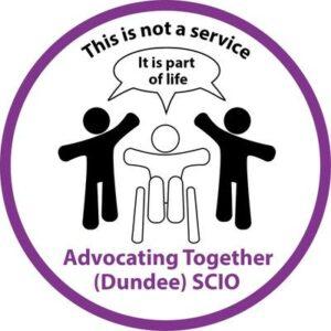 Advocating Together Dundee Logo